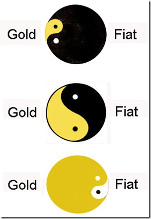 ying yang 3 x Gold Fiat