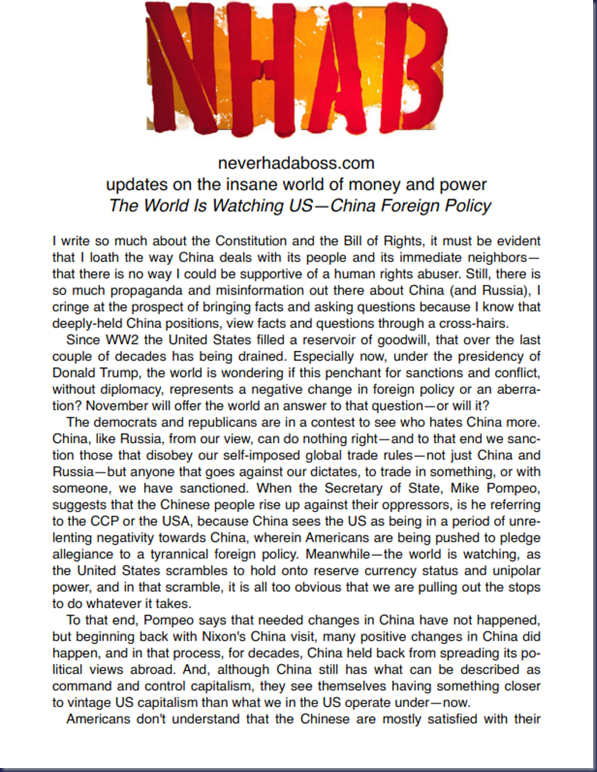 The World Is Watching US—China Foreign Policy _001